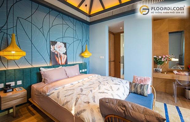 Tại sao nên lót sàn gỗ cho phòng ngủ nhỏ
