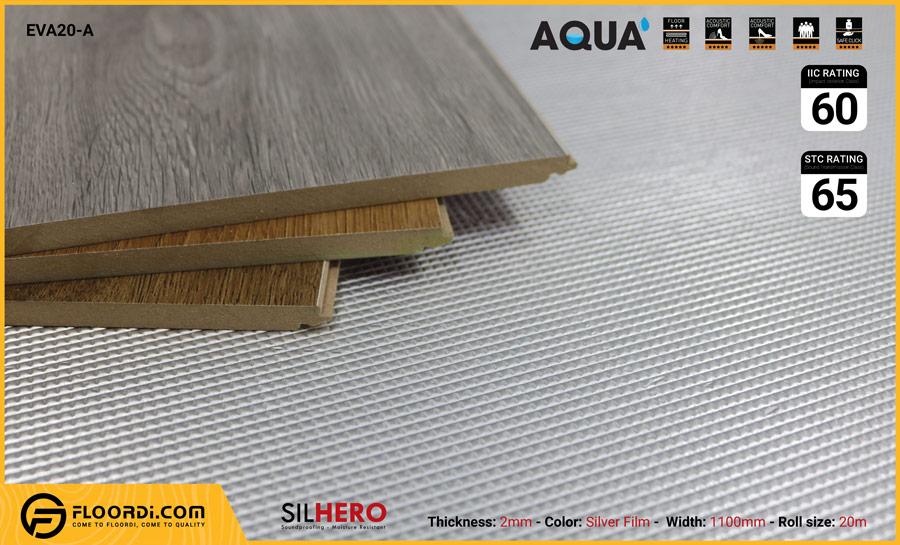 Xốp lót nền cách âm chống ẩm Silhero EVA20-AF – 2mm