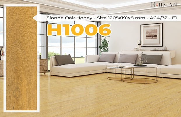 Sàn gỗ công nghiệp Hillman sở hữu những đặc tính nổi bật
