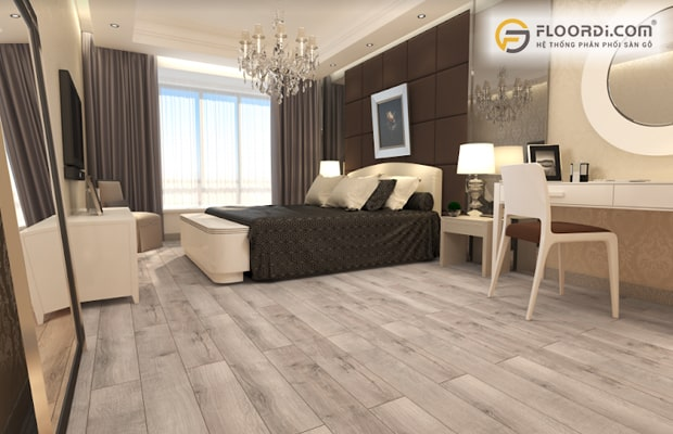 Sàn gỗ đảm bảo tiêu chuẩn mang lại vẻ đẹp hoàn hảo và an toàn sức khỏe người dùng
