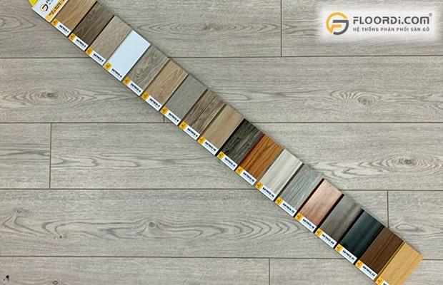 Phụ kiện sàn gỗ như len, nẹp, xốp giúp hoàn thiện công trình