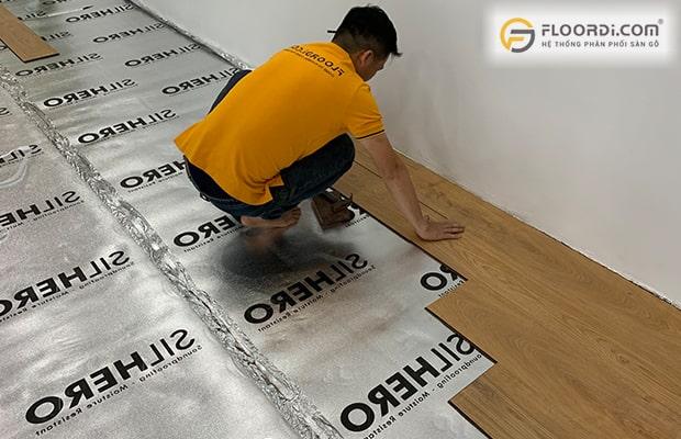Thay mới loại xốp chuyên dụng Silhero cũng là phương án tốt để xử lý dứt điểm sàn kêu