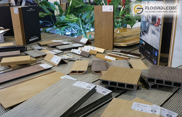 Đây là kiểu sàn có thiết kế kích thước riêng biệt nhằm phù hợp cho công trình ngoài trời