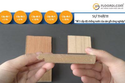 Độ trương nở ảnh hưởng thế nào đến chất lượng sàn gỗ?