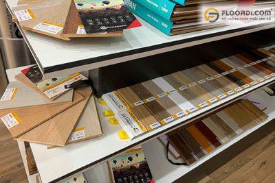 các loại nẹp sàn gỗ và phụ kiện